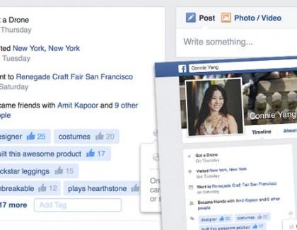 Facebook testira tagove na profilima korisnika – baš kao LinkedIn