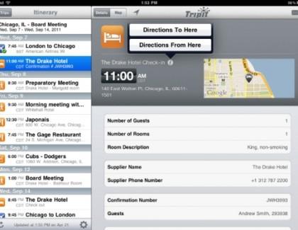 TripIt – nova mobilna aplikacija za turiste