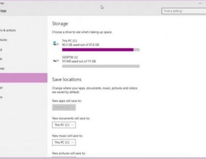 Windows 10 bez opcije instaliranja aplikacija na SD kartice