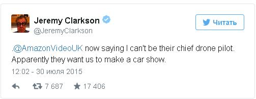 clarkson twitter