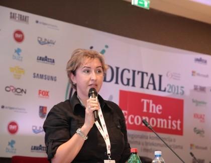 """#Digital2015 Jelena Šarenac predstavila konferenciju """"PRilika"""""""