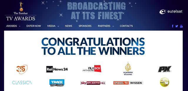 Eutelsat congratulations