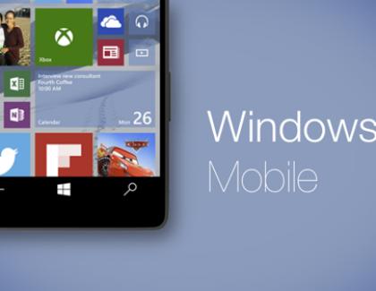 Windows 10 Mobile zvanično stiže u decembru?