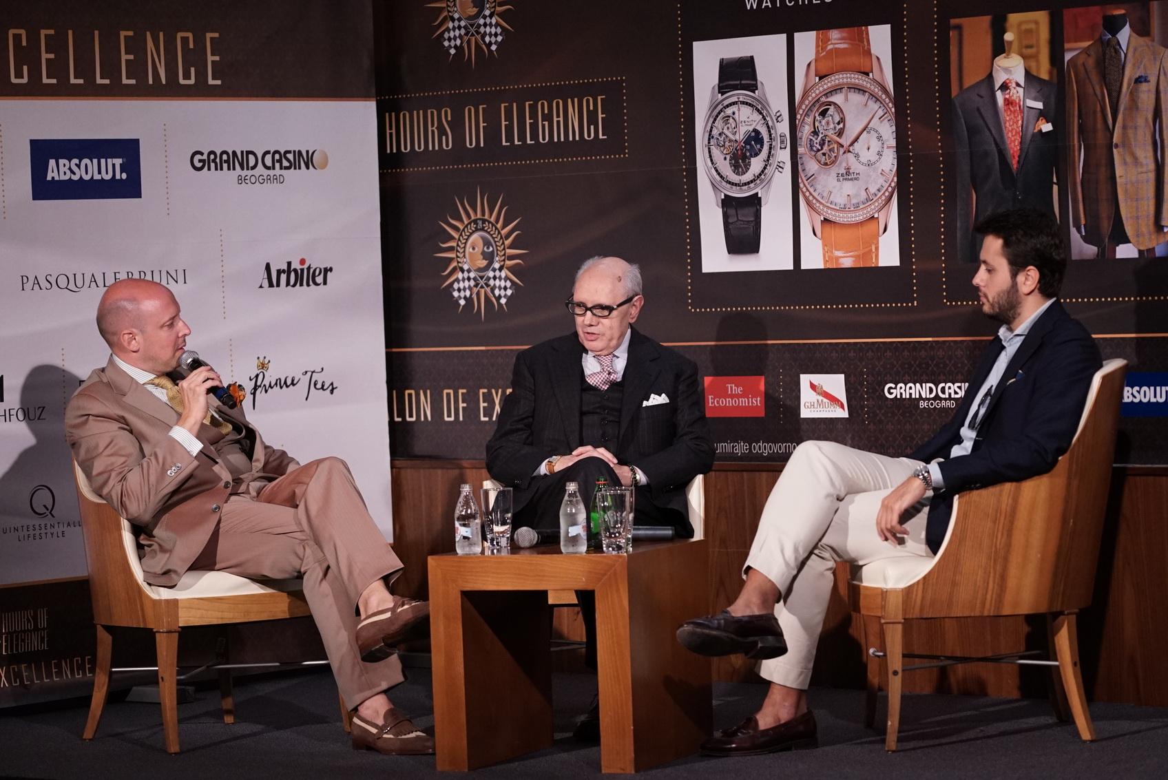 Antonio Liverano, famozni maestro elegancije iz Firenze i najpoznatiji italijanski blogger Fabio Attanasio iz Bespokedudes.com