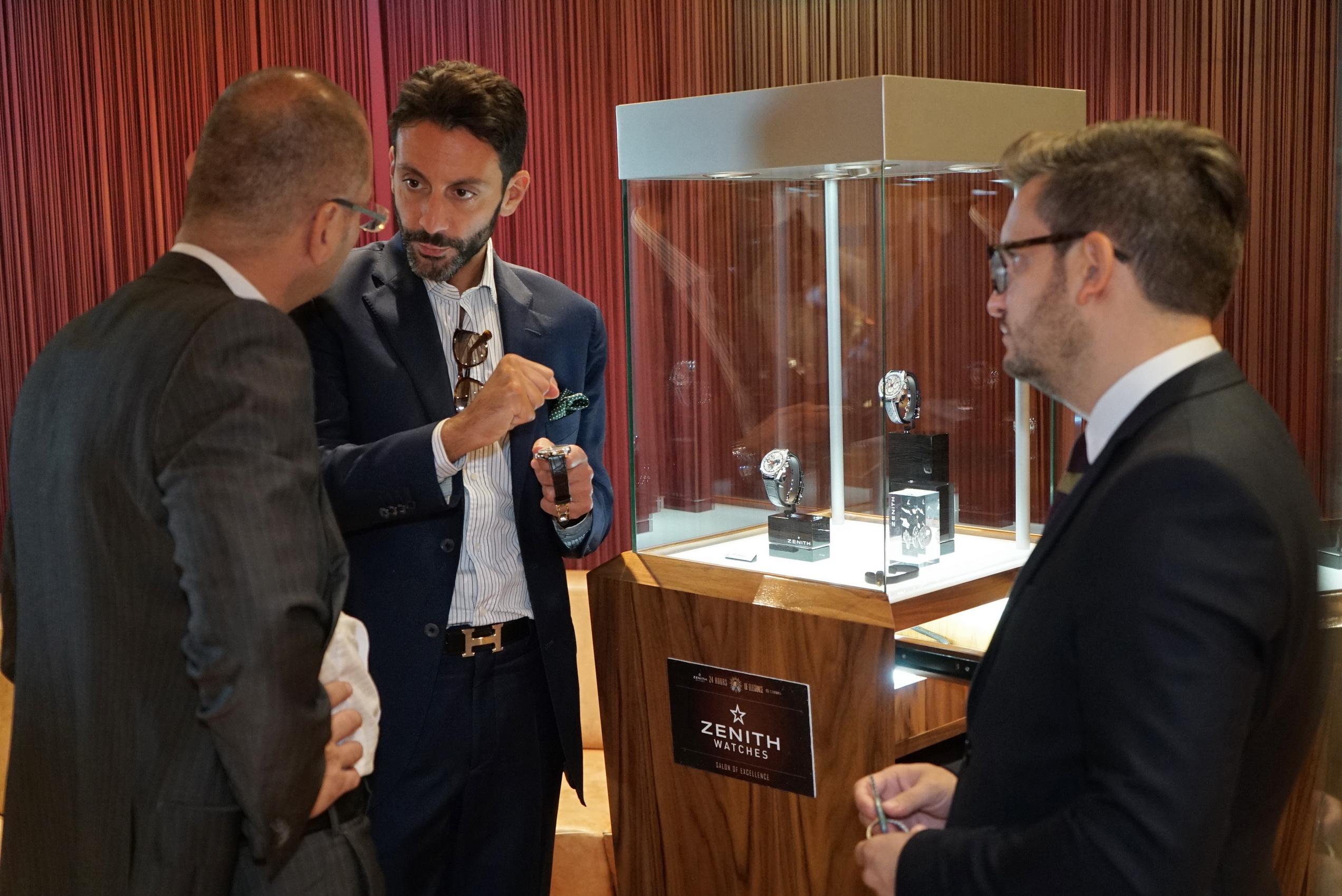 Paolo Cappiello i Vincent Steinmann predstavljaju ZENITH vrhunske casovnike