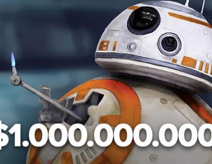 """Star Wars: The Force Awakens"" obara sve rekorde: Milijardu dolara za 12 dana!"