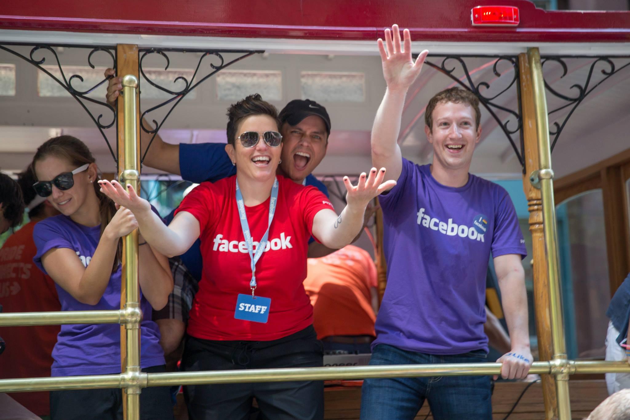 Fejsbukov tim na Pride-u 2013.