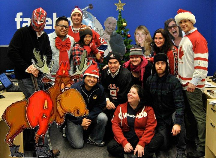Nova godina u Fejsbukovom sedištu u Torontu