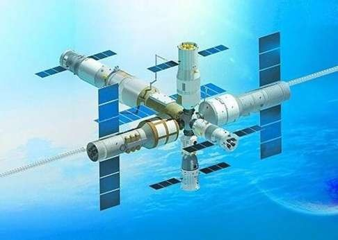 China's first space statio