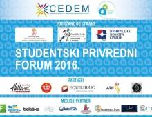 Počinje Studentski privredni forum 2016