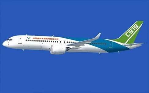 passenger jet C919