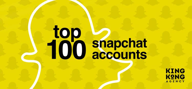 Top 100 Snapchat profila u regiji