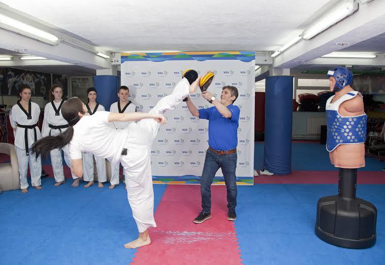 Taekwondo demonstracija