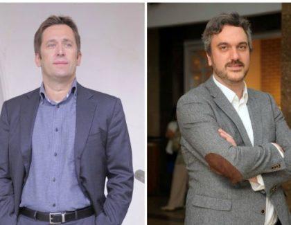 Slavnostna govornika Vesa Jevrosimović in Marko Čadež #Blogomanija