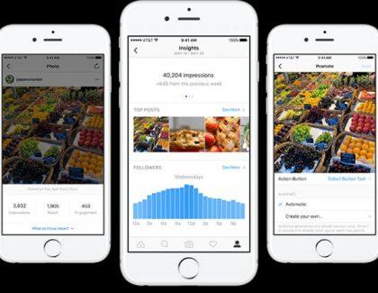 Na Instagram končno prihajajo poslovni profili in orodja, ki vam bodo olajšala promocijo