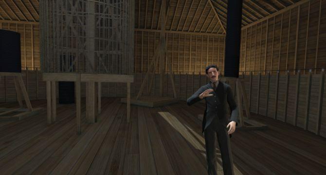 Virtuelni Tesla u hidrocentrali na Nijagarinim vodopadima 2
