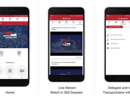 Ameriške volitve: Snapchat, Facebook, app za prenos v živo, 360 stopinjski video …