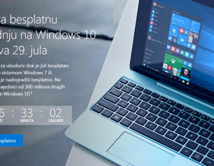 Do petka 29. jula nadogradite Windows 10 besplatno!