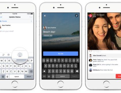 Sinhronizovani Facebook Live prenos je stigao!