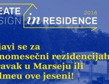Dizajneri i kreativci prijavite se za jednomesečni boravak u Švedskoj i Francuskoj!
