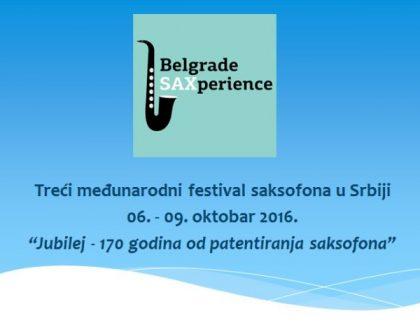 Budite volonter na festivalu Belgrade Saxperience!