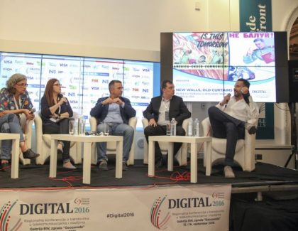 "#Digital2016 – poslušajte panel ""New Walls, Old Curtains: Mediji na Balkanu u atmosferi novog hladnog rata"""