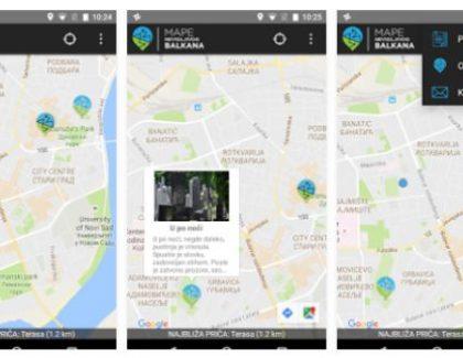 """""""Mape nevidljivog Balkana"""" od sada dostupne i kao mobilna aplikacija"""