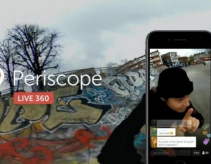 I Periscope sada nudi live video u 360 stepeni