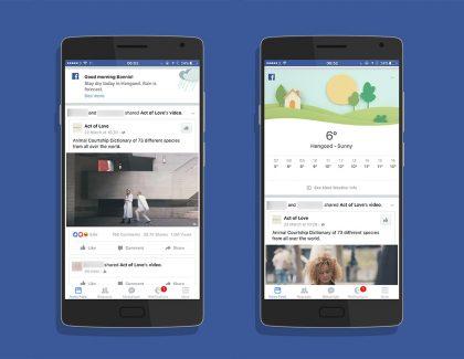 Facebook hoće da zameni sve aplikacije za vremensku prognozu!