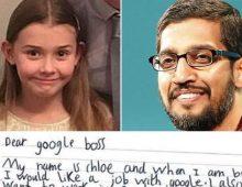 Posao se traži od malih nogu: Devojčica pisala Googleu i dobila odgovor!