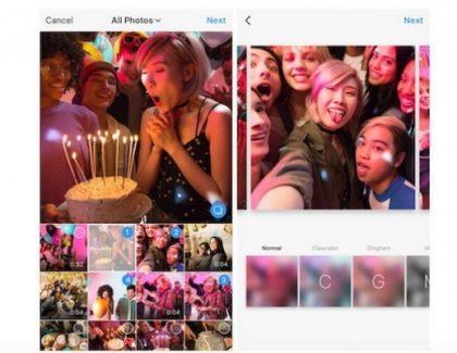 Instagram omogućio više fotografija i videa u jednom postu!