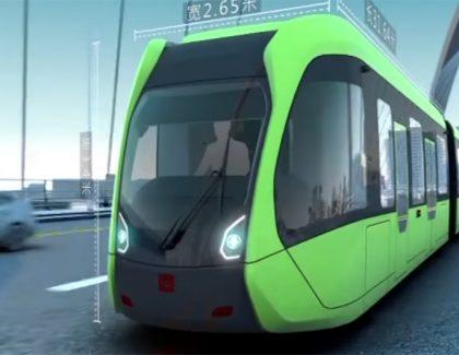Kina pokrenula voz na virtuelnim šinama!