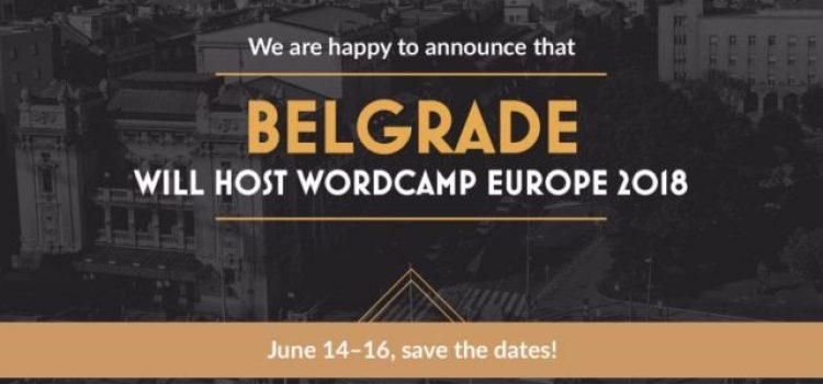 Beograd će biti domaćin WordCamp Europe 2018