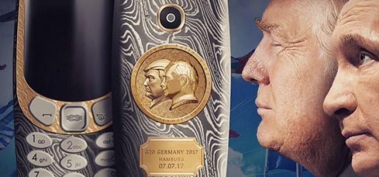 """Nova """"ludost"""" iz Rusije: Nokia 3310 u čast Putina i Trampa"""