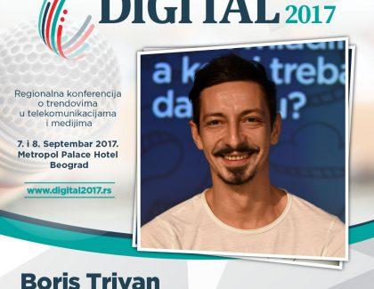 Digital 2017 – Boris Trivan: Ako ih ispravno koristimo, društvene mreže su saveznik svima!