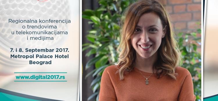 """Digital 2017 – Maja Vujašković Đureinović: Kriza uvek potiče od """"greške"""" zato je neophodno da su komunikatori bliski mestu donošenja odluka"""
