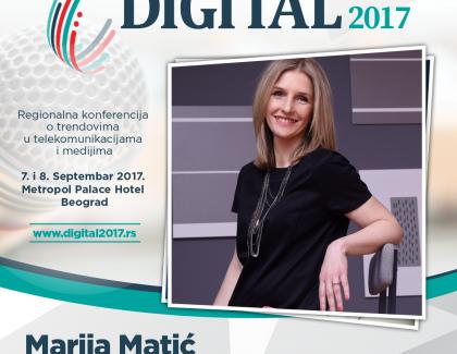 Digital 2017 – Marija Matić: Mi se već sada pripremamo za dolazak nove, generacije Z. Oni će tek biti drugačiji!