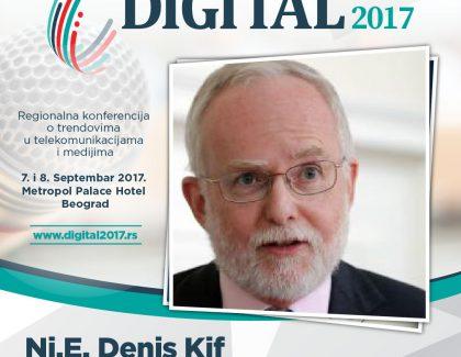 Digital 2017 – Denis Kif: Digitalna diplomatija je samo tehnološki unapređen produžetak tradicionalne diplomatije