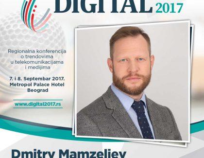 Digital 2017 – Dmitrij Mamzeliev: Možemo očekivati još veći uticaj IoT trenda koji je omogućio konstantnu povezanost