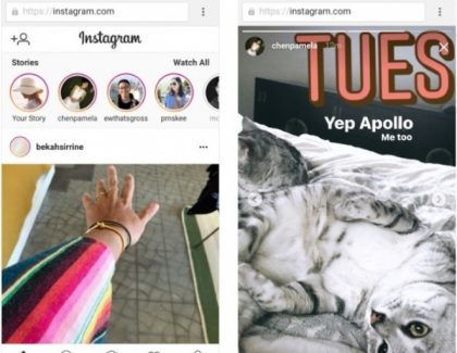 Instagram Stories dostupan za mobilnu verziju sajta