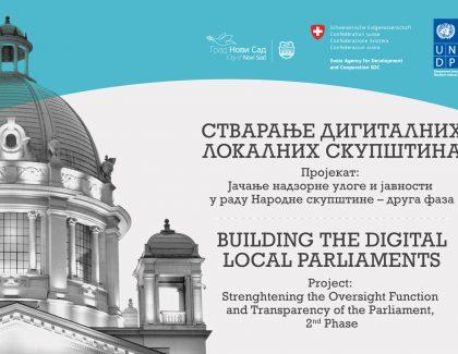 """Konferencija """"Stvaranje digitalnih lokalnih skupština"""" 30. i 31. oktobra u Master centru u Novom Sadu"""