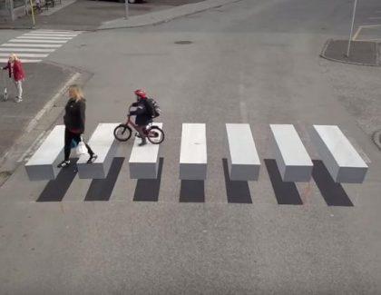 """3D pešački bolji i od """"ležećeg policajca""""?!"""