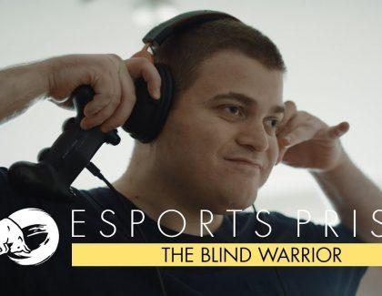 BlindWarriorSven: Slep, a profesionalno se takmiči u video-igram