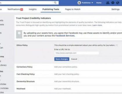 """Facebook uveo """"indkator poverenja"""" u borbi protiv lažnih vesti"""